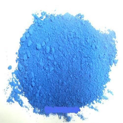 Bột màu xanh